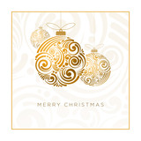 Fototapety Abstract Christmas Design