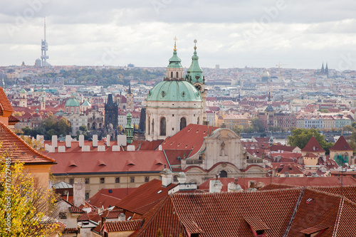 Prague. Сity from the height of Prague Castle. Poster