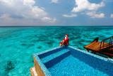 Christmas tropical vacation