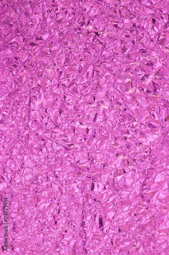 Violette Metallfolie Poster
