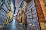 Narrow street in Buonconvento