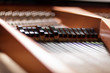 Details inside a piano