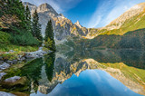 Tatra mountains, Morskie Oko lake, fall morning, Poland - 176766876