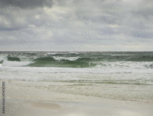 Dreamlike Stormy Gulf Coast Seascape - 176767805