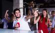 People joying in nightclub