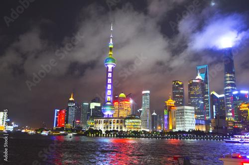 Shanghai skyline Poster