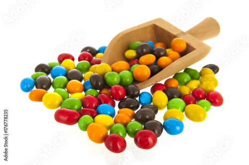 Colorful sugar sweets Poster
