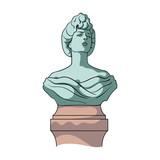Monument, single icon in cartoon style.Monument vector symbol stock illustration web. - 176781010