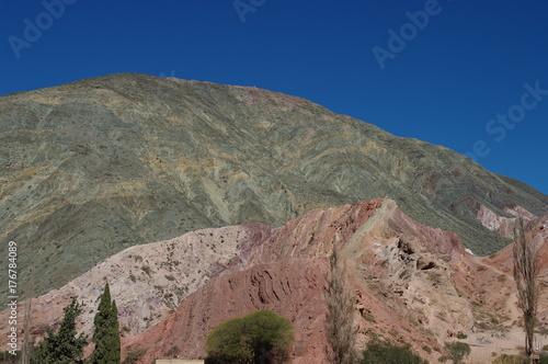 Papiers peints Cappuccino Formations géologiques dans le Nord-Ouest argentin - 5