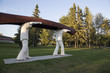 Canoe Statue Canada