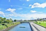Scenery Around Kagoshima Port on a Sunny Day - 176799286