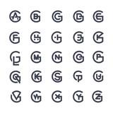 Letters Logo Set