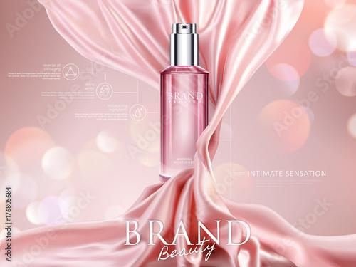 Luxury cosmetic ads