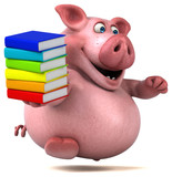 Fun pig - 3D Illustration - 176814206