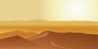 Quadro Dry desert under sun