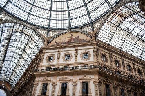 Foto op Canvas Milan Galerie Victor Emmanuel Milan, Italie