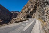 Tunnel Ausfahrt am Col de L'Iseran Pass Frankreich