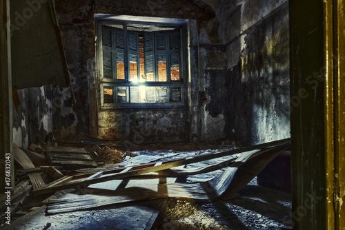 Papiers peints Les vieux bâtiments abandonnés dark asylum