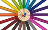 Different colors for color pencils - 176836436