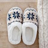Slippers on wooden floor - 176844428