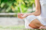 Fototapety Meditating