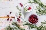 White christmas margarita punch - 176849629