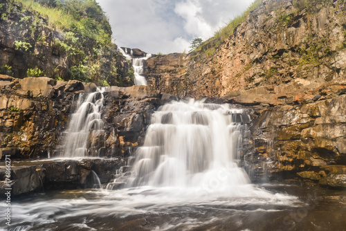 Amazing waterfall near Vangvieng laos - 176866271