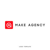Creative abstract logo design using letter a and m. Modern flat design. Vector illustration. - 176868239