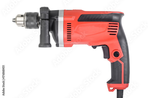 Hand electric drill Poster