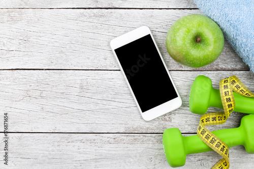 Fotobehang Fitness Fitness concept
