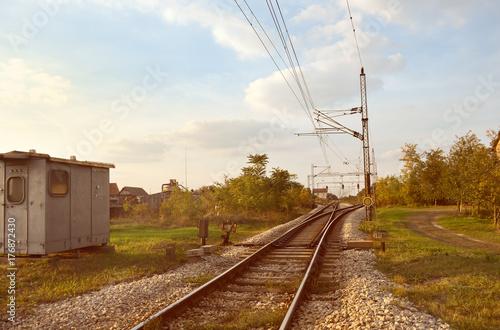 Papiers peints Voies ferrées Railway tracks