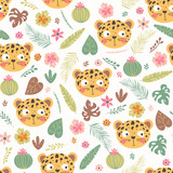 Seamless pattern wit...
