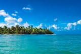 sandy sea beach the Caribbean Sea - 176876668