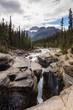 Mistaya Canyon Waterfall and Stream, Banff National Park