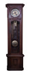 Grandfather clock isolated, old style