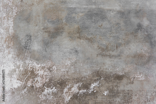 Fototapeta Rustic scrtached concrete wall texture background