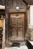 Old wooden door in D'ultimo - 176888417