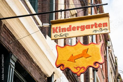 Schild 258 - Kindergarten