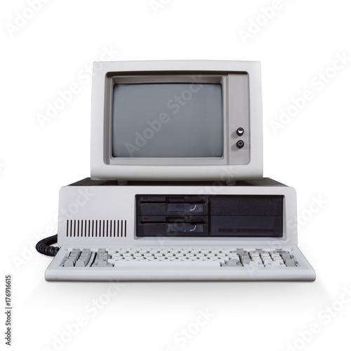 Poster Retro computer
