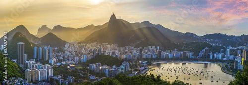 In de dag Rio de Janeiro Panoramic view of Rio De Janeiro, Brazil landscape