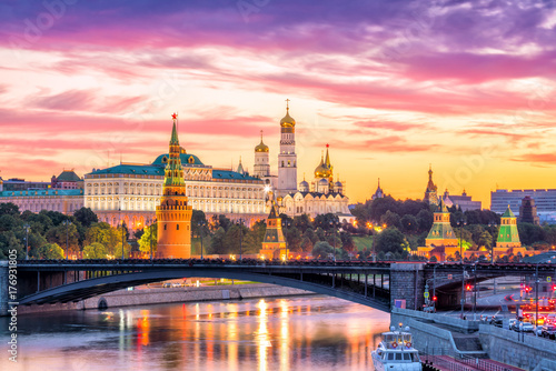 Foto op Plexiglas Moskou Moscow Kremlin