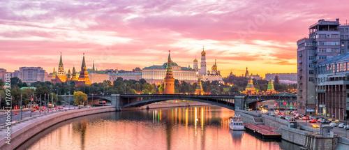 Plexiglas Moskou Moscow Kremlin