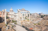 Roman ruins in Rome, Forum - 176936018