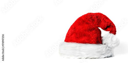 pelzige Weihnachtsmütze