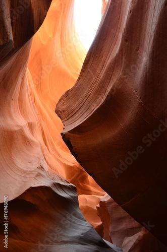 Foto op Plexiglas Bruin Antelope Canyon American Southwest. Arizona North America