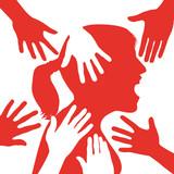 harcèlement - sexuel - femme - travail - violence - abus - lutte - agression - victime - viol - 176959861