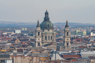 View of  St.Stephen's Basilica