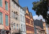 Une rue à Rouen - 176969089