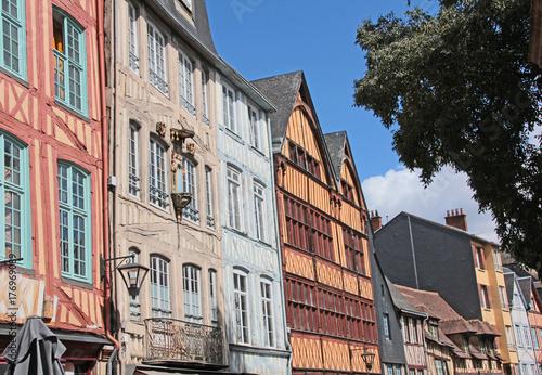 Une rue à Rouen