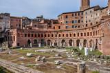 Trajan's markets in Rome - 176977403